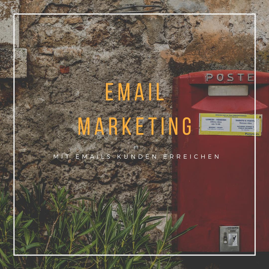 Postfach als Symbol für Emails und Newsletter